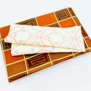 羽織からの仕立て替え 開き名古屋帯と帯揚げ