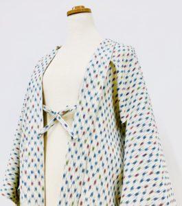 単衣のお召しのお着物から単衣羽織へお仕立て替え
