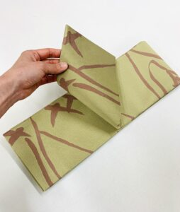 袋帯を半巾帯へお仕立て替え