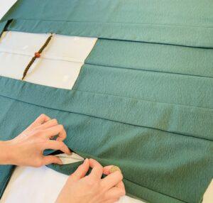 男向き袷羽織 ポケット付き