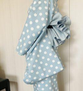 袖丈1尺7寸の浴衣