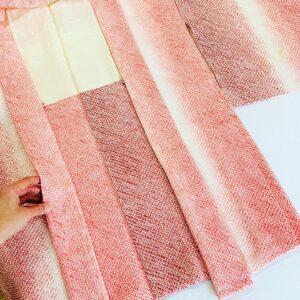 羽織から四つ身の着物へ仕立て変え